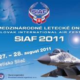 Medzinárodné letecké dni SIAF 2011 na Sliači